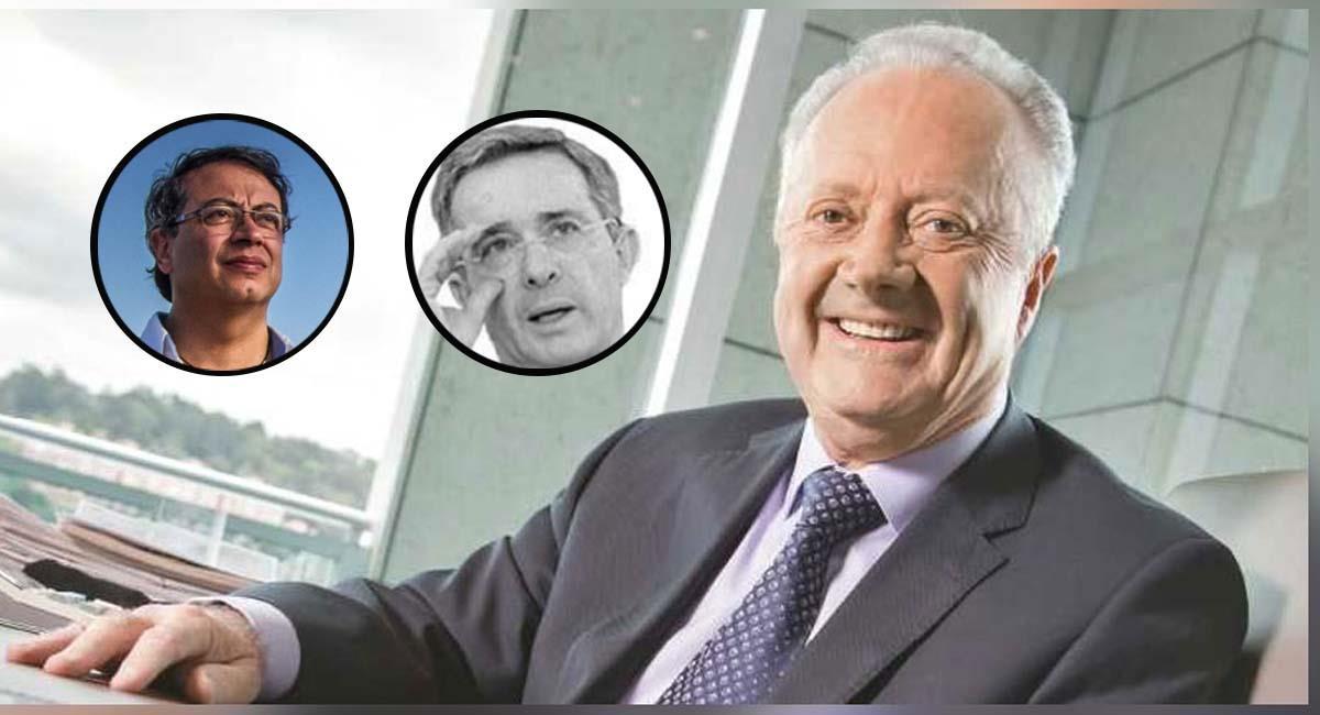 Los seguidores de Petro y Uribe lanzaron ofensas y elogios a Arturo Calle. Foto: Twitter @/ ElabeceU