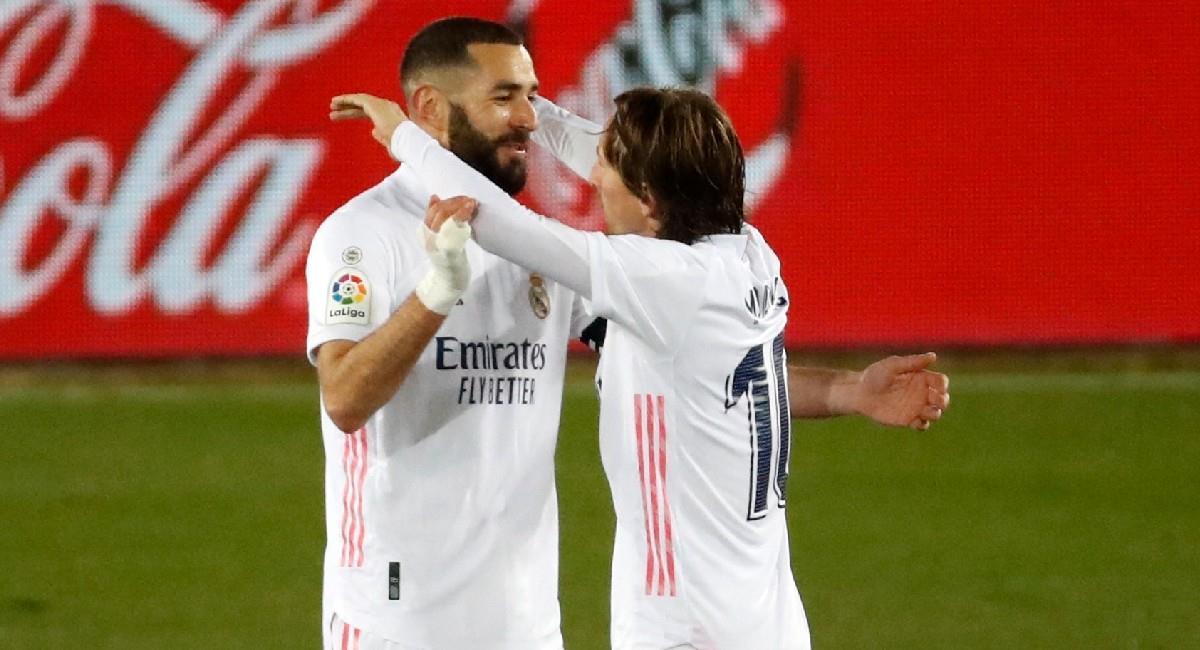 Real Madrid golea a Alavés. Foto: EFE