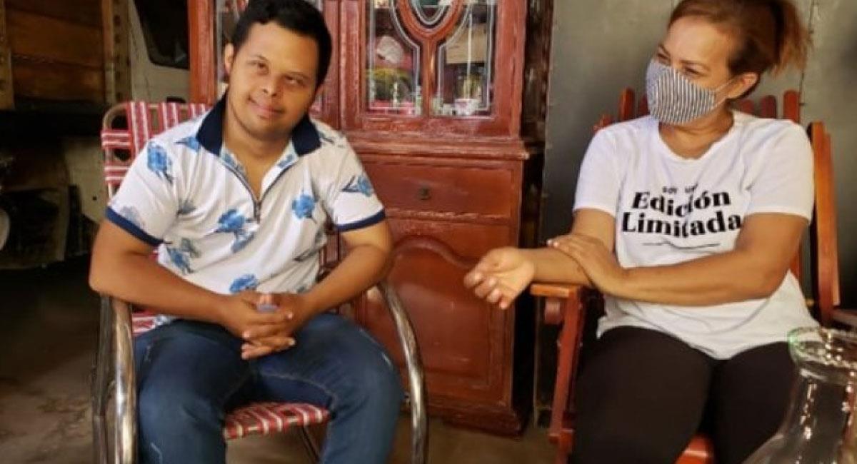 Édgar Alexander Orozco, obtuvo el mayor puntaje Icfes de Distracción, Guajira. Foto: Twitter @AsodeguaG