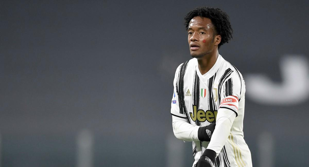 Cuadrado figura con Juventus. Foto: Twitter Prensa redes Juventus.