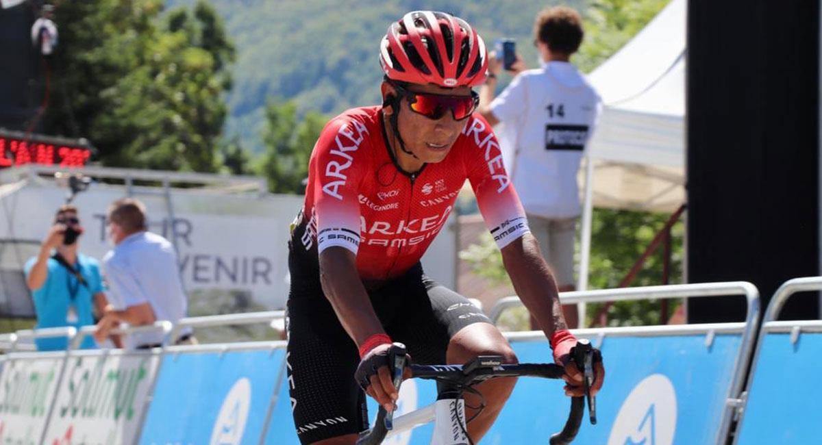 Nairo Quintana espera poder participar en el Giro de Italia con Arkea Samsic. Foto: Twitter @Arkea_Samsic