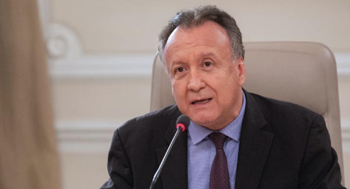Luis Alexander Moscoso Osorio, viceministro de Salud Pública y Prestación de Servicios. Foto: Ministerio de Salud