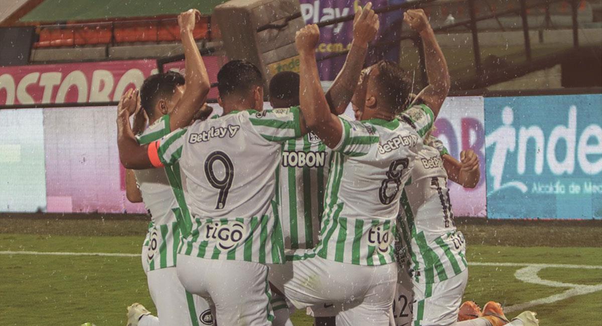 Atlético Nacional quiere conseguir su segunda victoria consecutiva en la Liga BetPlay. Foto: Twitter @nacionaloficial