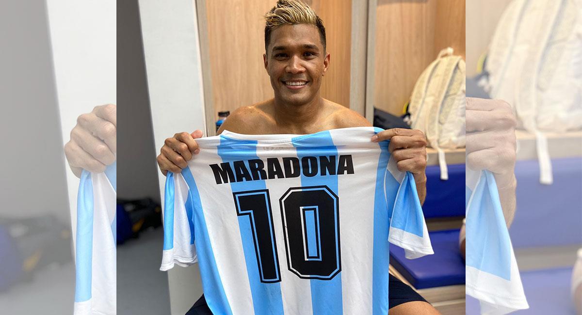 Teófilo Gutiérrez tiene contrato con Junior de Barranquilla hasta mitad de 2021. Foto: Twitter @teogol_