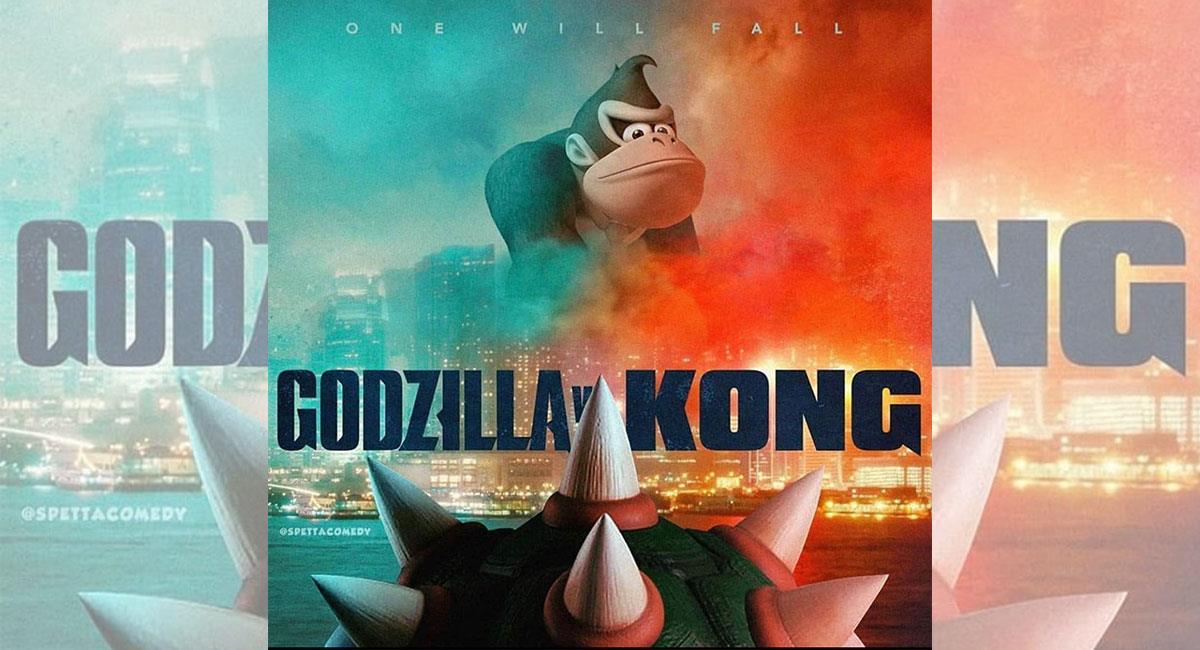 """Godzilla vs Kong"""": Los más graciosos 'memes' de la próxima película de  Warner sobre los dos famosos monstruos del cine"""