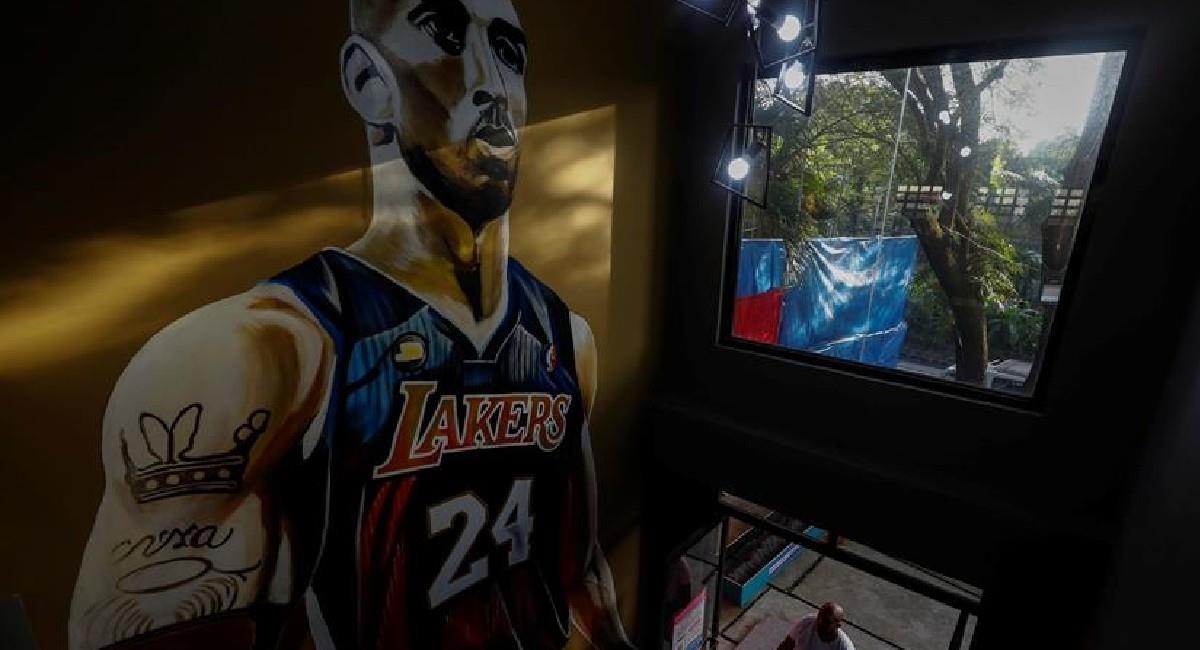 Kobe Bryant falleció el 26 de enero de 2020. Foto: EFE