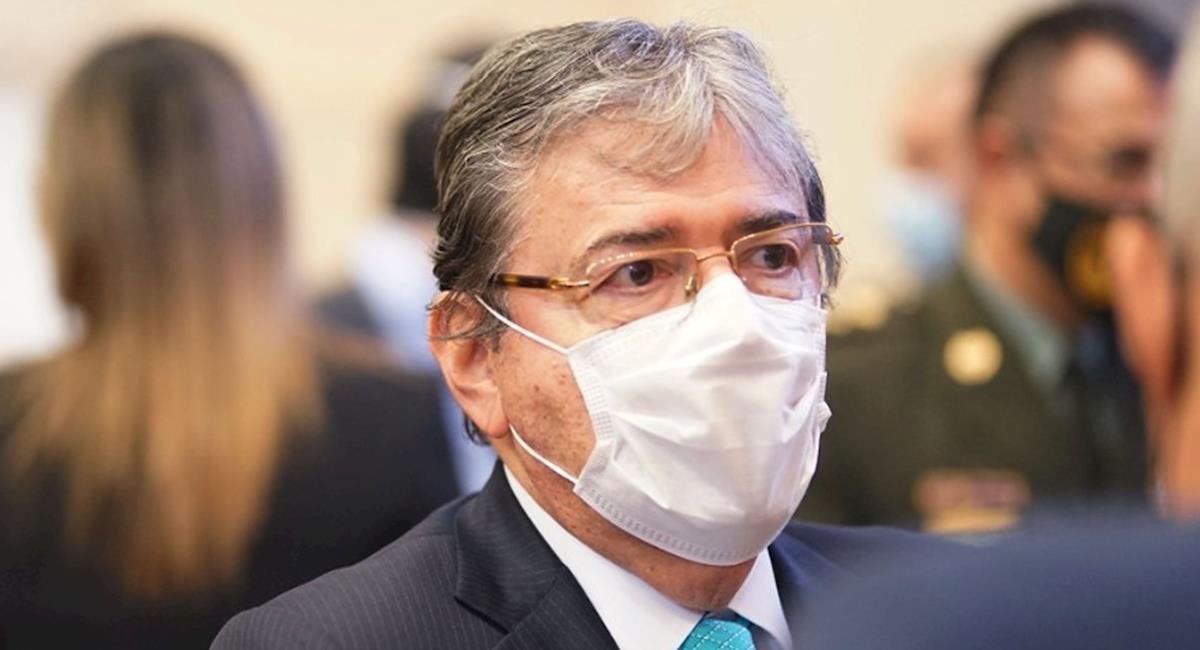 México lamenta la muerte del Ministro de Defensa de Colombia. Foto: EFE