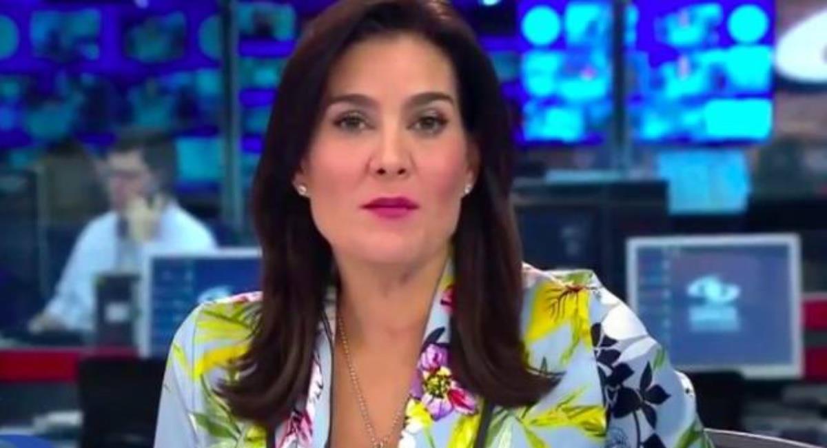 Sus colegas no contuvieron la risa. Foto: Youtube Caracol Televisión.