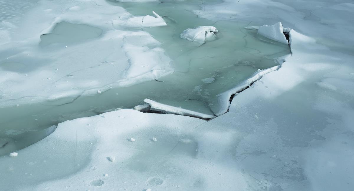 El deshielo suele irse directo al océano y podría causar inundaciones a futuro. Foto: Pexels