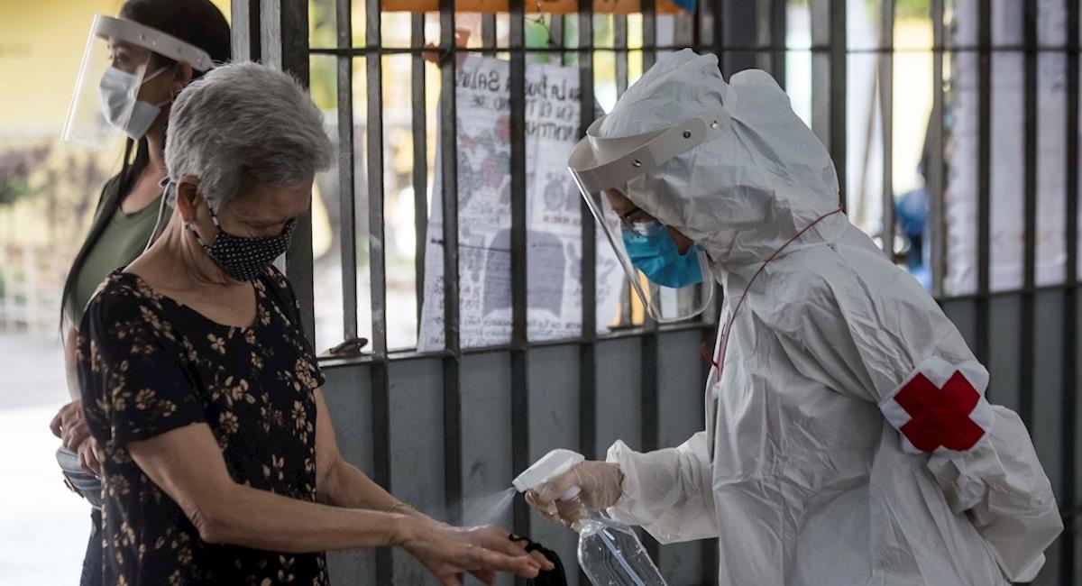Bogotá sigue siendo una de las ciudades más afectadas por la pandemia. Foto: EFE