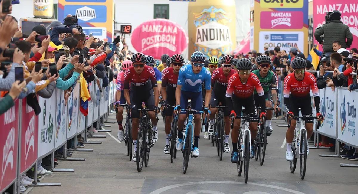 Los campeonatos nacionales de ciclismo tuvieron que ser aplazados por la pandemia. Foto: Twitter @fedeciclismocol