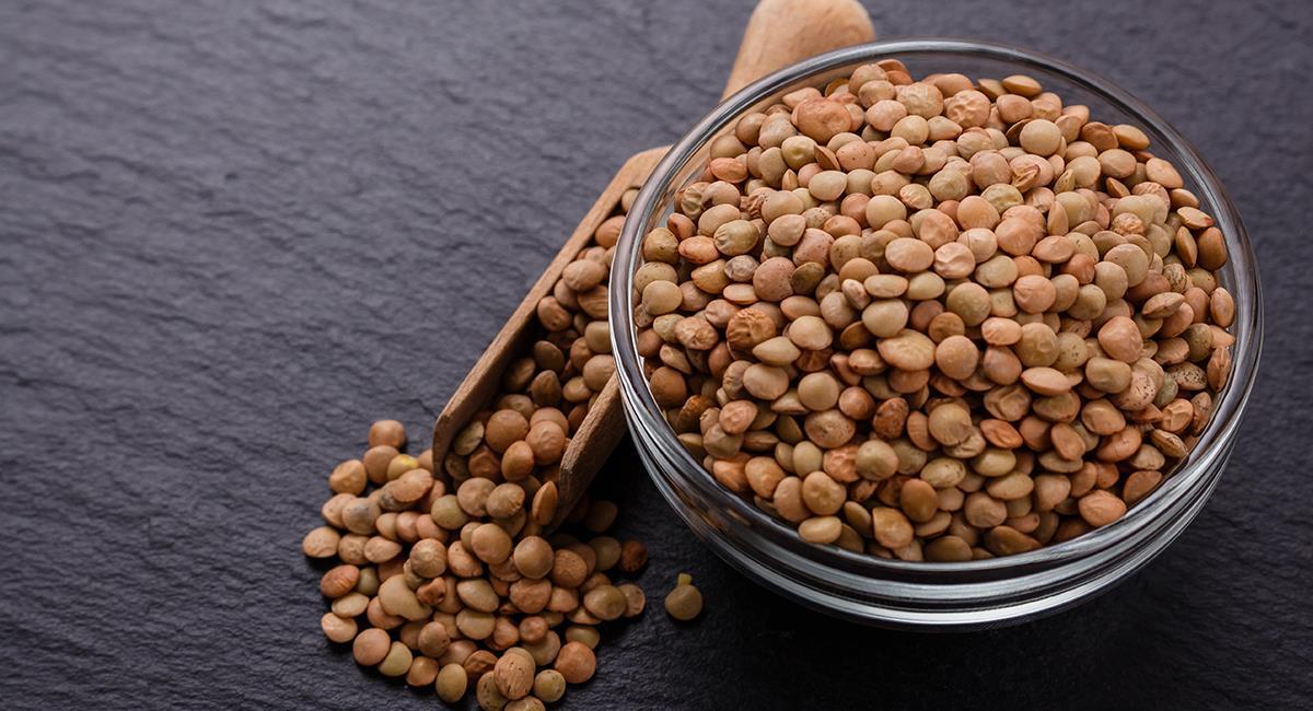 Las propiedades nutricionales de las lentejas son múltiples y beneficiosas. Foto: Shutterstock