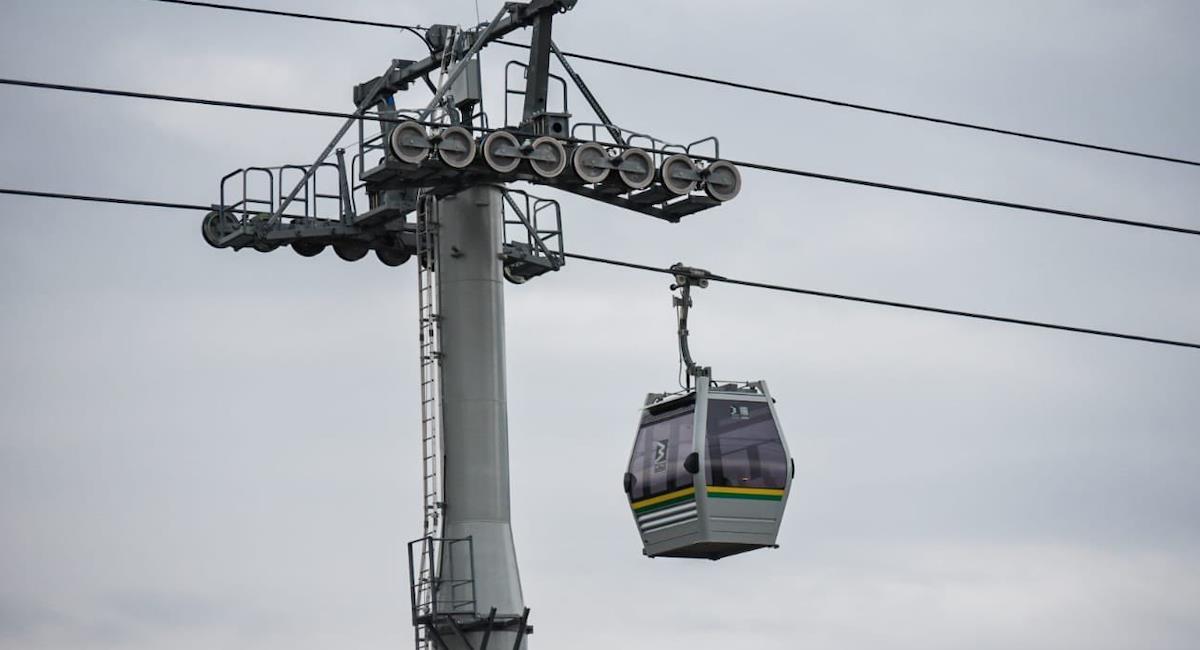 Medellín tendra una de las redes de metrocable más grande del mundo. Foto: Alcaldía de Medellín