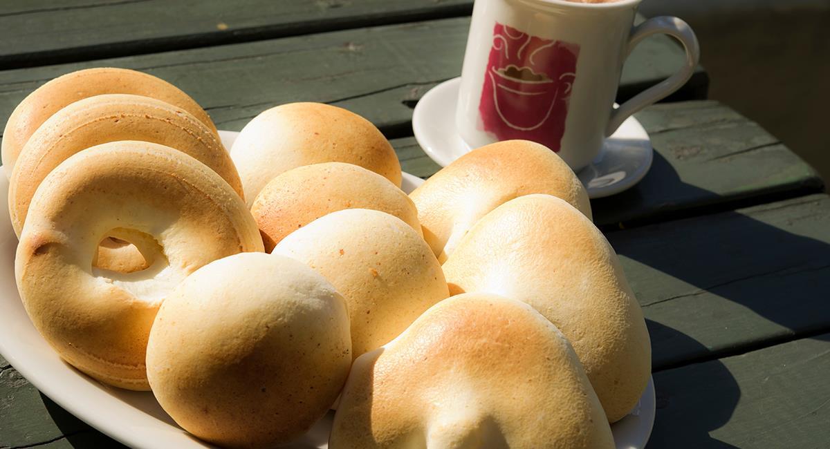 Con esta receta podrás preparar tu propia versión de pan de yuca. Foto: Shutterstock