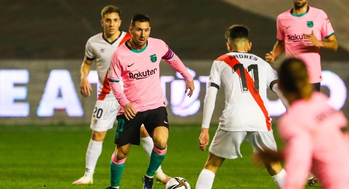 Lionel Messi estuvo los 90 minutos con Barcelona. Foto: Twitter @Barcelona_es