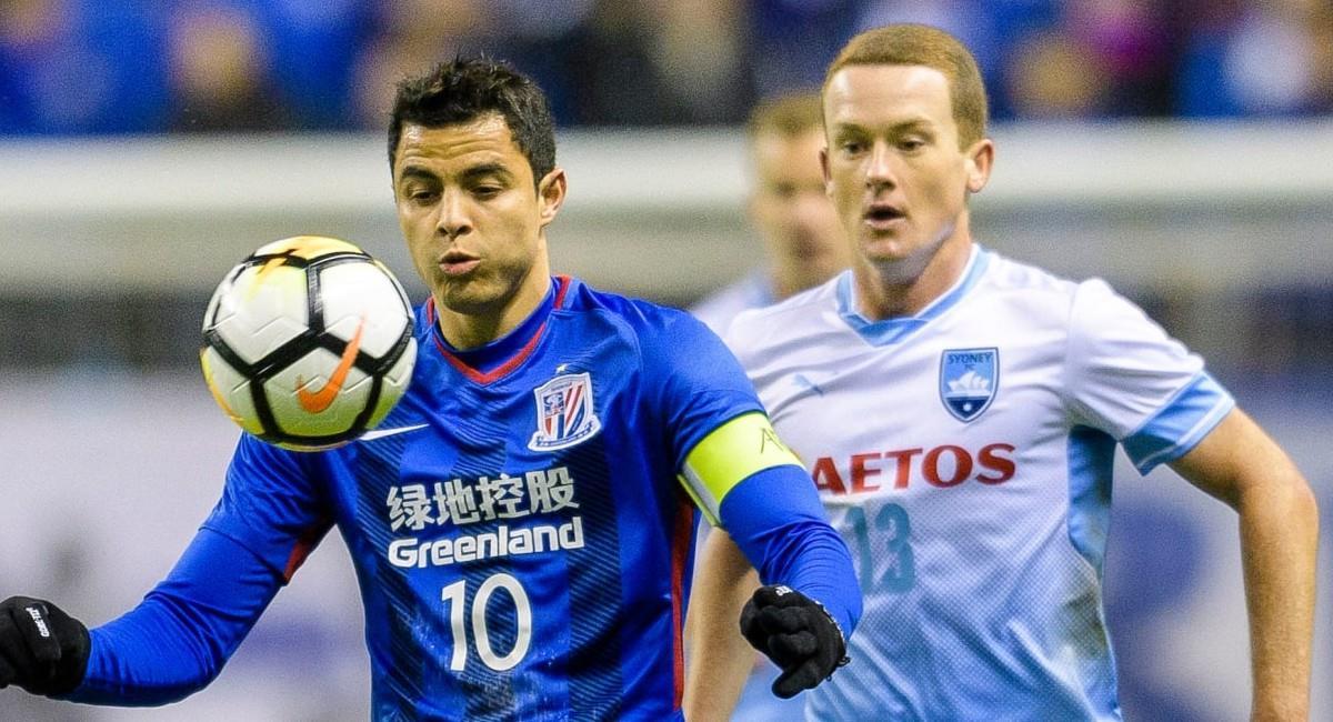 Giovanni Moreno, jugador colombiano en el fútbol de China. Foto: Facebook
