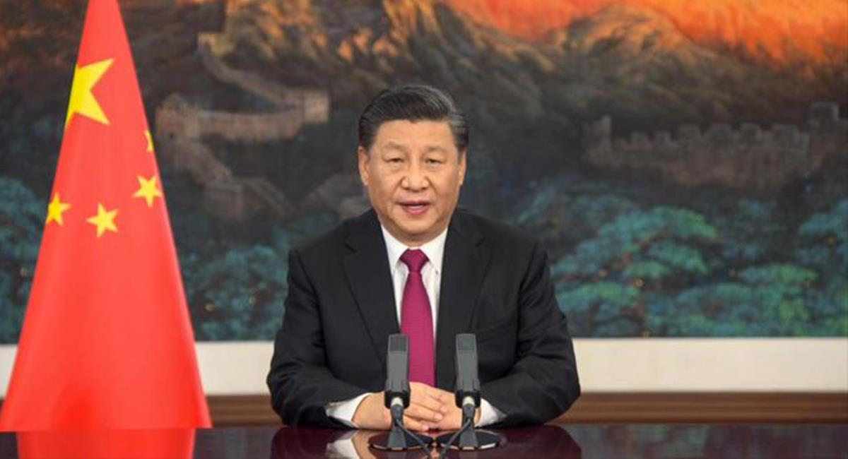 El primer mandatario chino Xi Jinping continua con su postura de expansión militar para demostrar su poderío. Foto: Twitter @TudeCcs