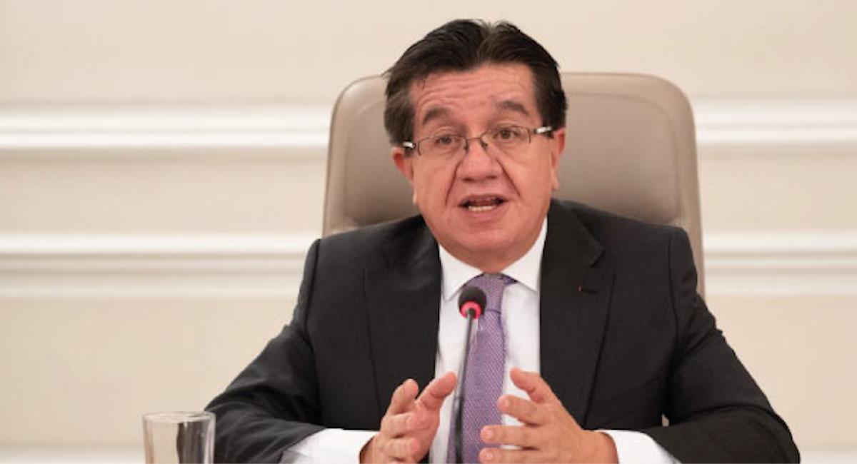 Fernando Ruiz, Ministro de Salud de Colombia. Foto: Ministerio de Salud