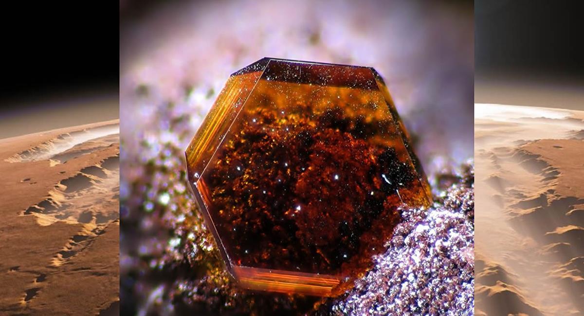 Este mineral es la primera vez que se encuentra en la Tierra. Foto: Twitter @Codigoocultocom