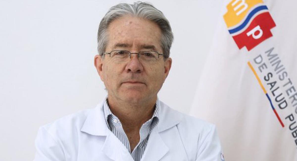 El ministro de salud ecuatoriano se ha visto envuelto en un escándalo relacionado con la vacunación contra la COVID-19 en su país y piden su destitución. Foto: Twitter @revistavistazo