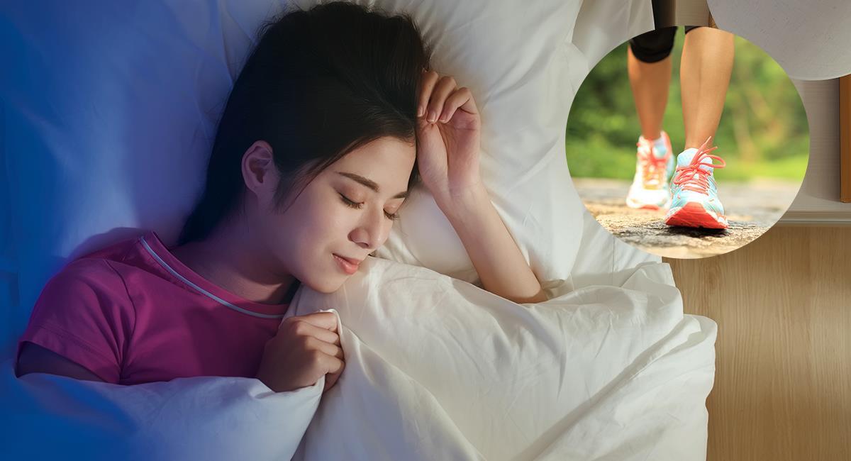 Estudio: caminar diariamente te ayuda a dormir mejor. Foto: Shutterstock