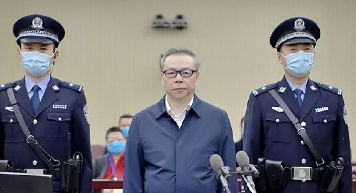 Lai Xiaomin fue ejecutado por casos de corrupción en los que recibió más de 200 millones de dólares en sobornos. Foto: Twitter @TrendStudies