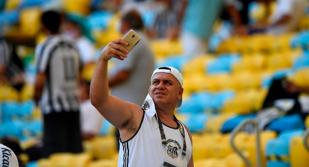 La final de la Copa Libertadores apenas contó con 500 hinchas. Foto: EFE