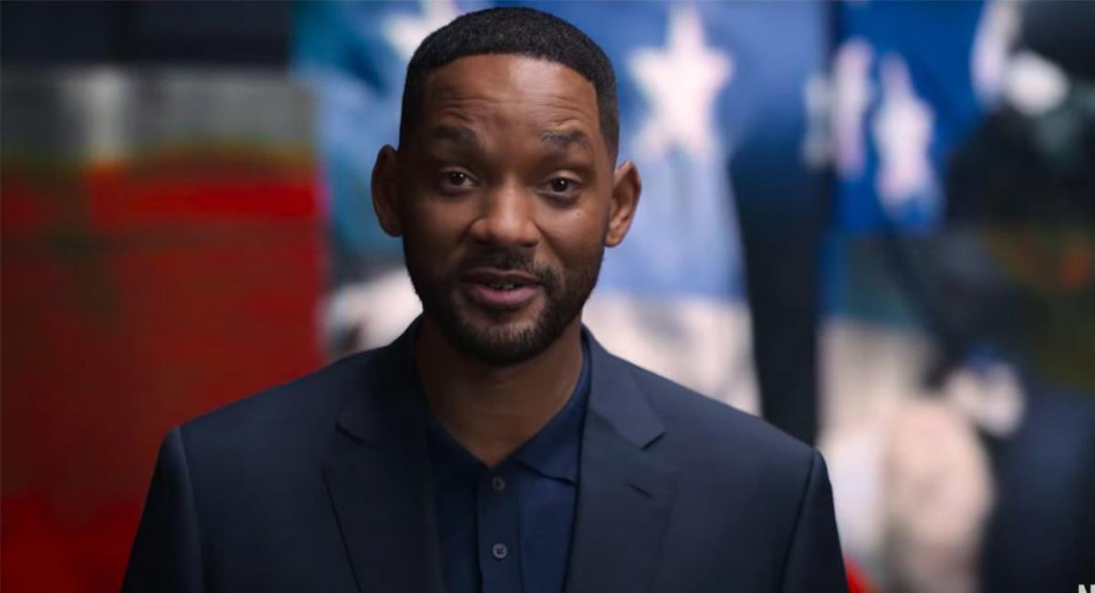 """""""'Amend: The Fight for America"""" estará conducido por Will Smith y contará con varios invitados. Foto: Twitter @netflix"""