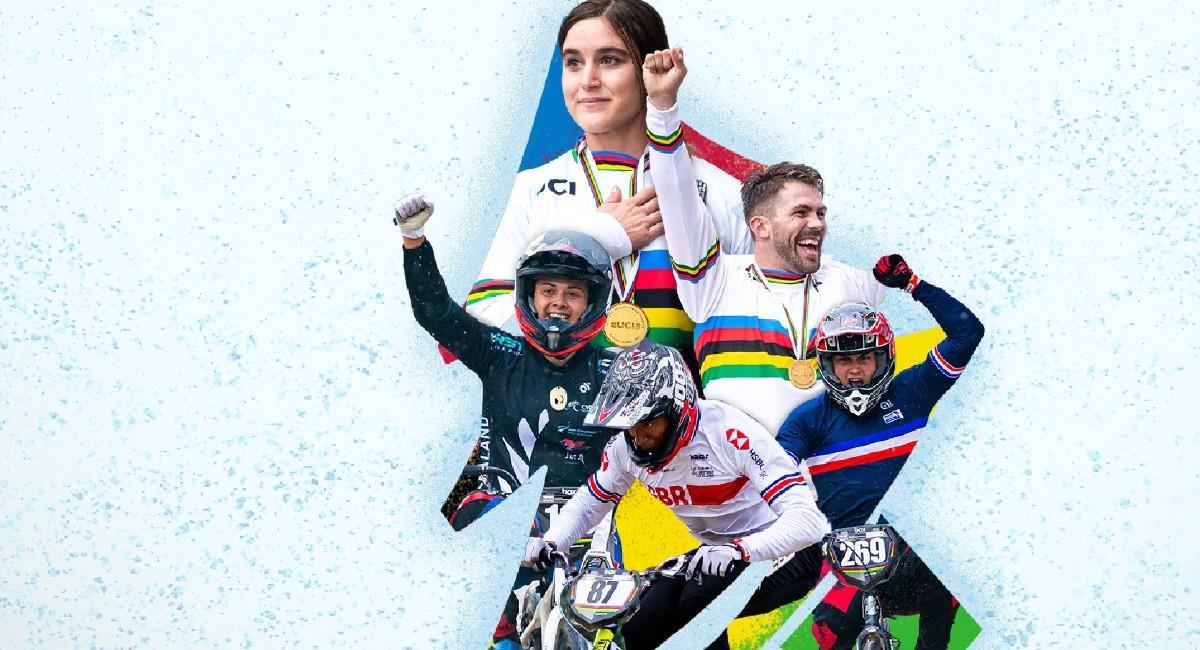 Bogotá tendrá el honor de ser sede del Mundial de BMX en 2021. Foto: Twitter @UCI_BMX_SX