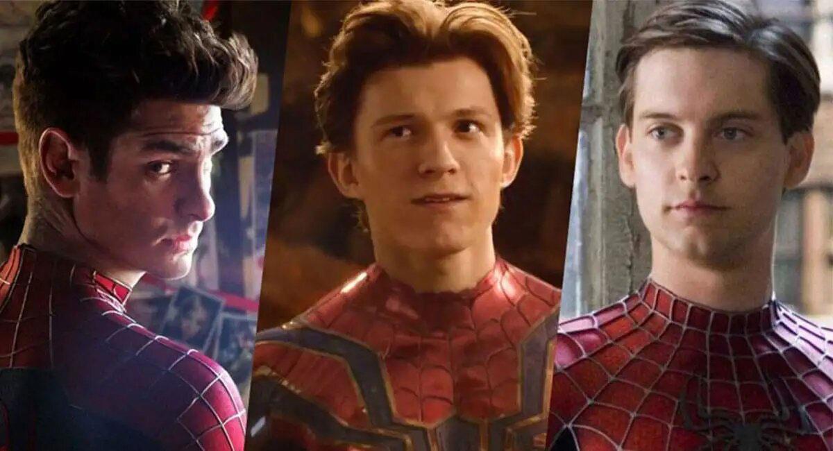 """Spider-Man 3"" podría reunir a Andrew Garfield, Tom Holland y Tobey Maguire. Foto: Twitter @WhenInManila"