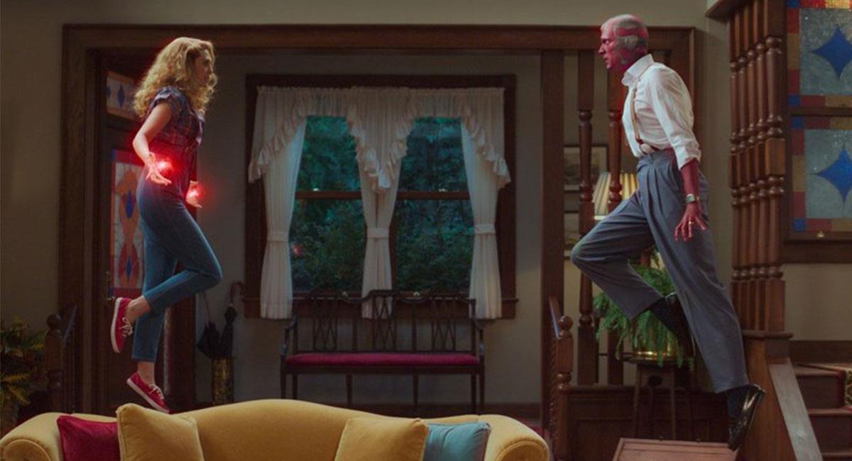 """""""WandaVision"""" sigue despertando grandes críticas entre fanáticos y expertos. Foto: Twitter @Disney"""
