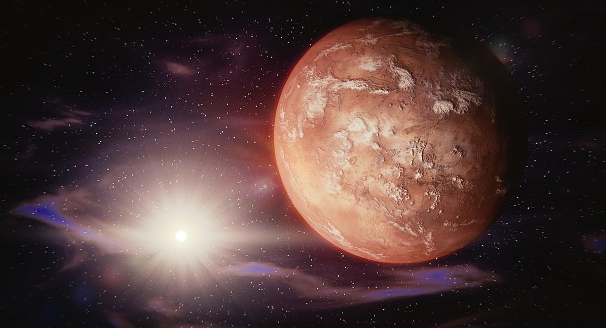 El 'planeta rojo' tiene pocas similitudes con la Tierra, y su calendario es diferente. Foto: Pixabay