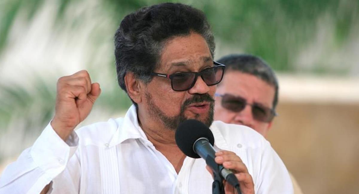 Iván Márquez, exjefe de las FARC. Foto: EFE