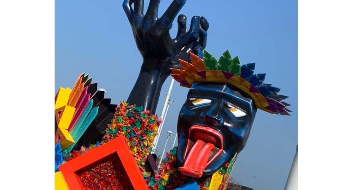 Los personajes ya son una expresión cultural del Carnaval de Barranquilla. Foto: Twitter @Carnaval_SA