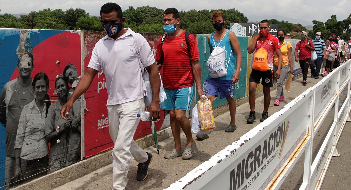 Crean estatuto para regularizará a migrantes venezolanos en Colombia. Foto: EFE