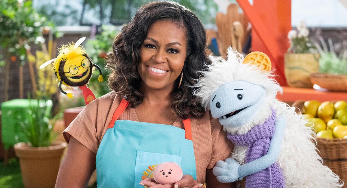 """Michelle Obama debutará como actriz en """"Waffles + Monchi"""", en asociación con Netflix. Foto: Twitter @netflix"""