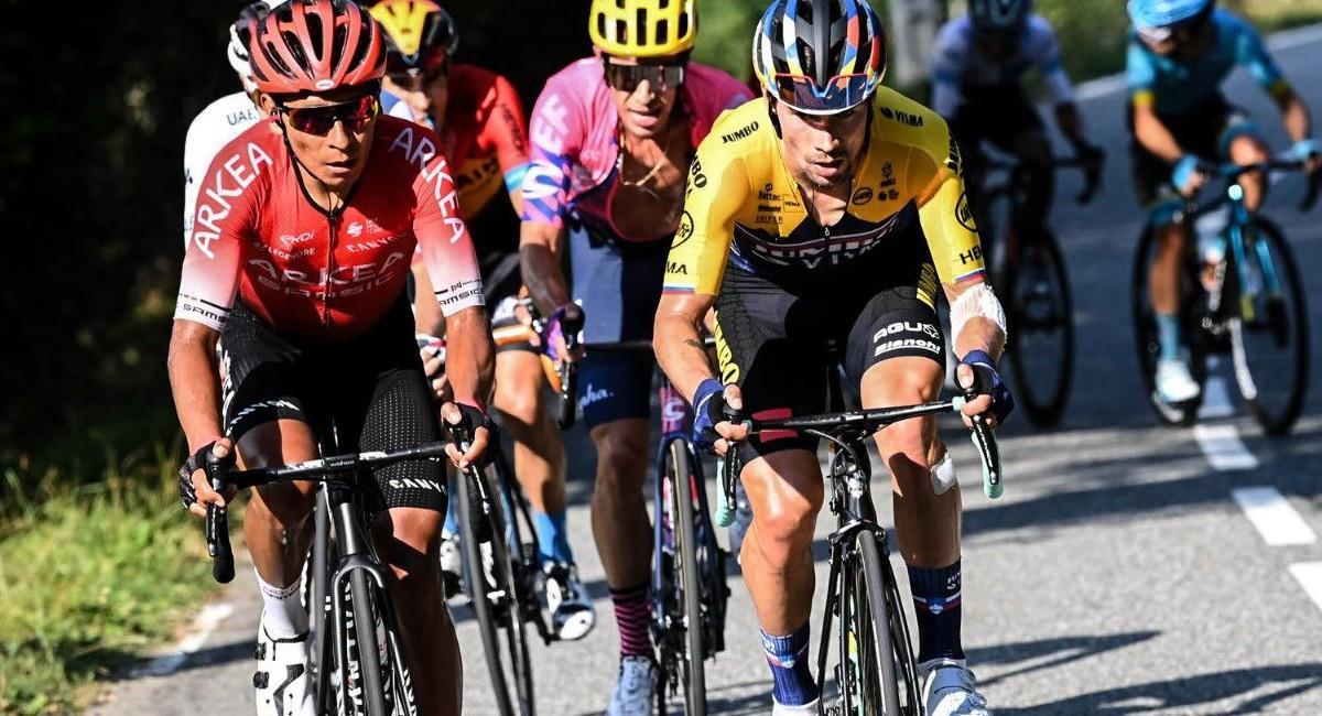 Nairo Quintana se perderá el Giro de Italia. Foto: Twitter @Arkea_Samsic