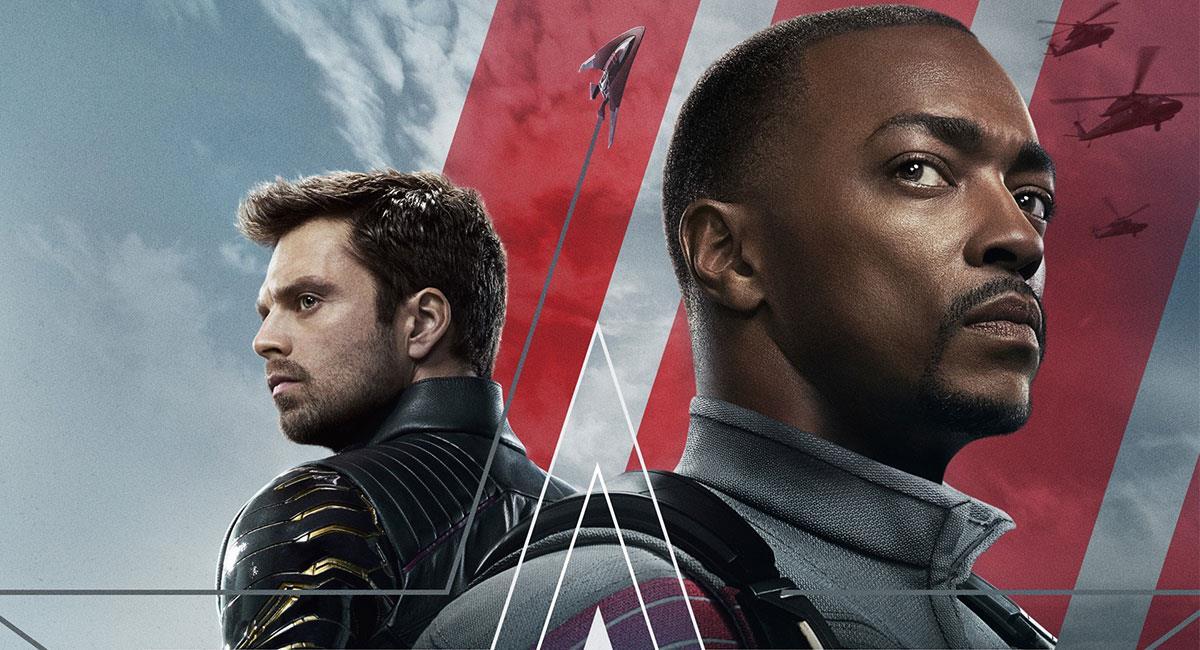 """""""The Falcon and the Winter Soldier"""" se estrenará el próximo 19 de marzo. Foto: Twitter @falconandwinter"""