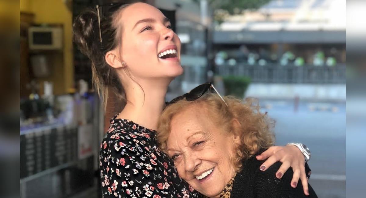 Belinda comparte varios recuerdos junto a su abuela tras su fallecimiento. Foto: Instagram