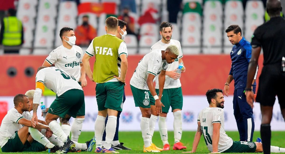 Palmeiras no pudo ganar ningún partido en el Mundial de Clubes. Foto: EFE