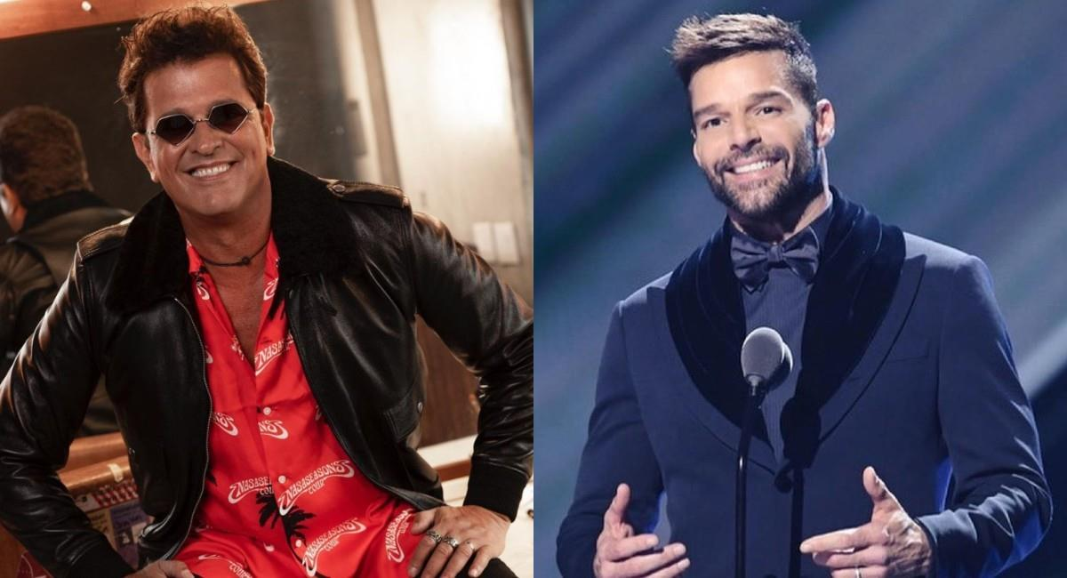 Al parecer, el encuentro entre Carlos Vives y Ricky Martin se había aplazado por la COVID-19. Foto: Instagram
