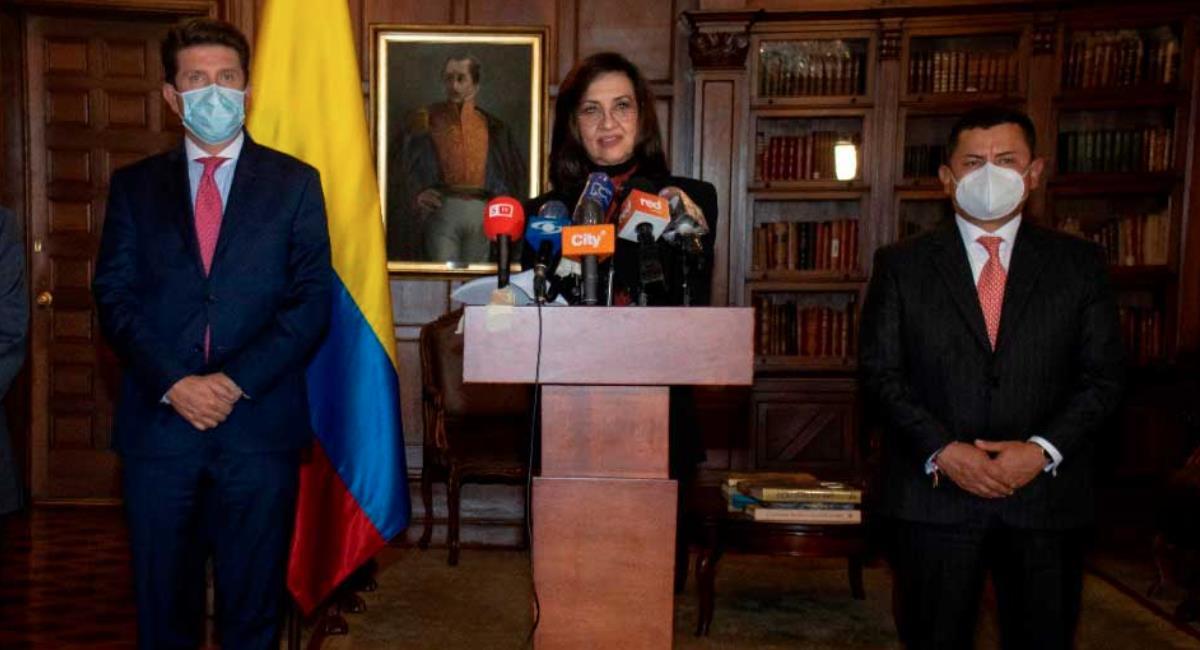 Colombia pide información de atentado en Bogotá. Foto: Presidencia de Colombia