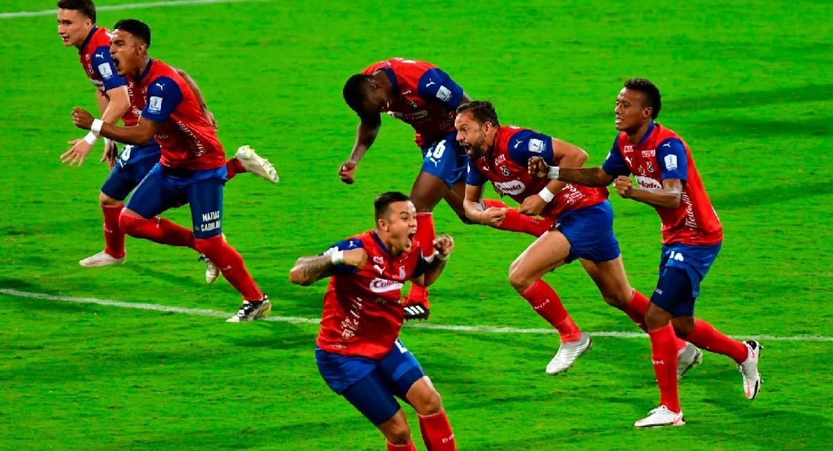 Independiente Medellín, campeón de la Copa BetPlay Dimayor. Foto: EFE