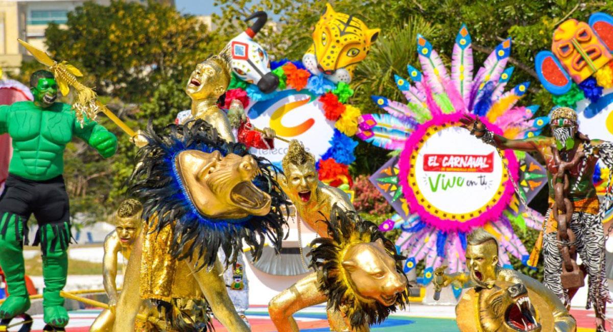 Este año podrás disfrutar de la majestuosidad del carnaval desde tu hogar. Foto: Twitter @Carnaval_SA