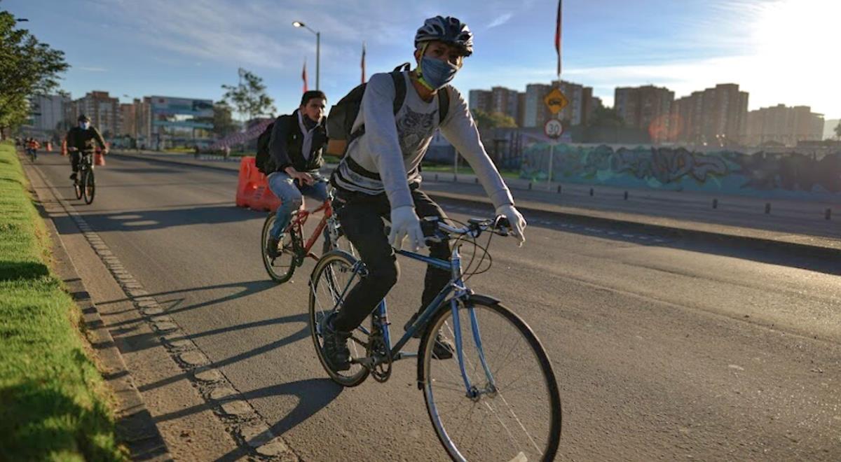 Ciclorrutas ayudarán a la movilidad de estudiantes en el regreso a clases. Foto: Alcaldía de Bogotá