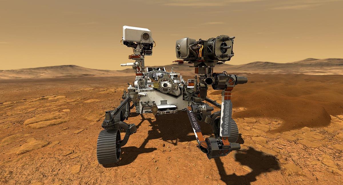 El rover Perseverance será el quinto, en poder aterrizar sobre suelo 'marciano'. Foto: Twitter @NASA