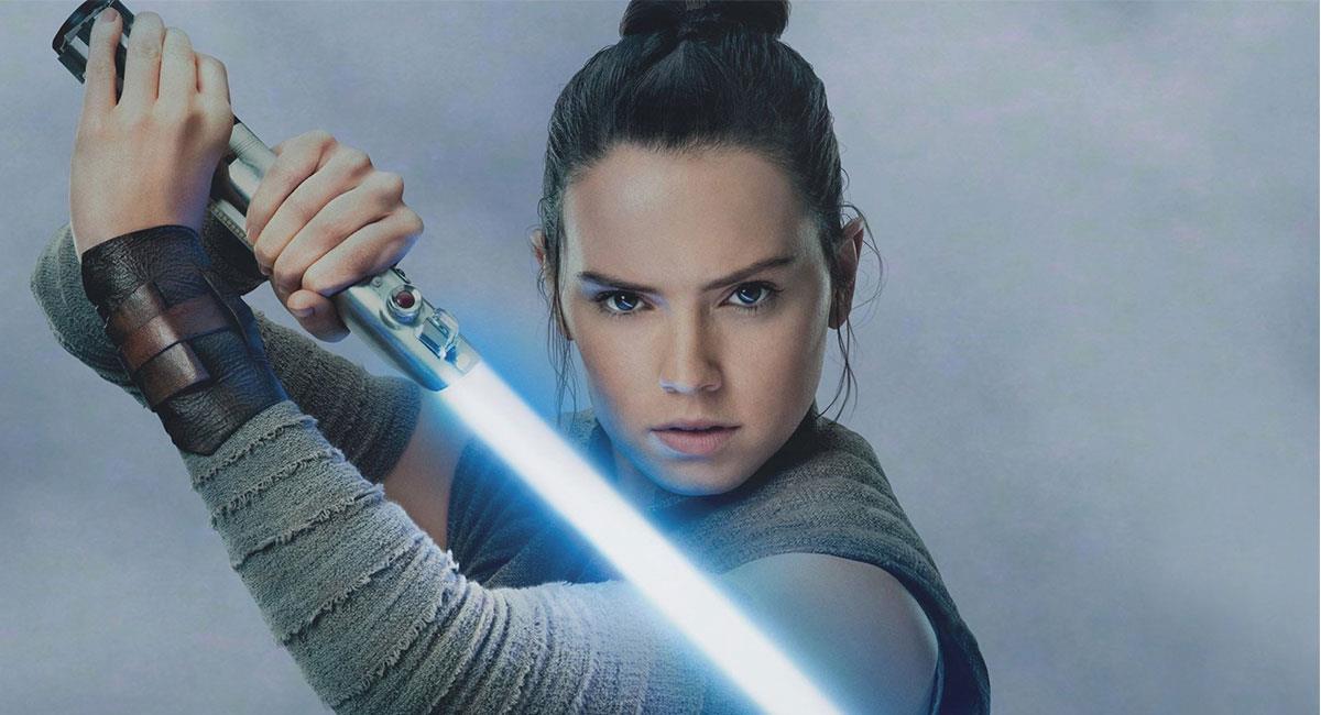 """Daisy Ridley interpretó a Rey en las últimas tres cintas de """"Star Wars"""". Foto: Twitter @starwars"""