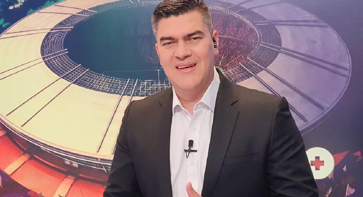Eduardo Luis, locutor deportivo de Win Sports. Foto: Instagram @eduardoluisfut