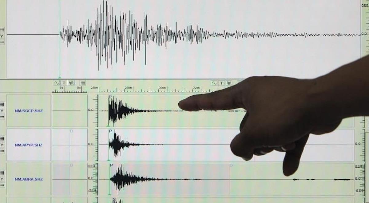El sismo en Ecuador se registró en horas de la madrugada. Foto: EFE