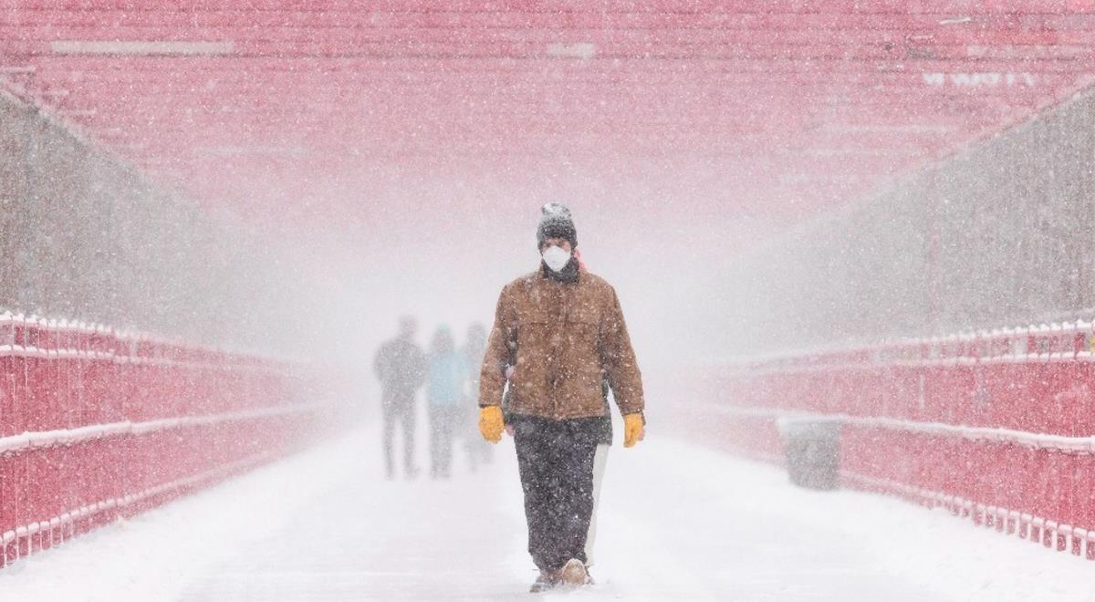 Nueva York se ve afectado por las fuertes tormentas. Foto: EFE